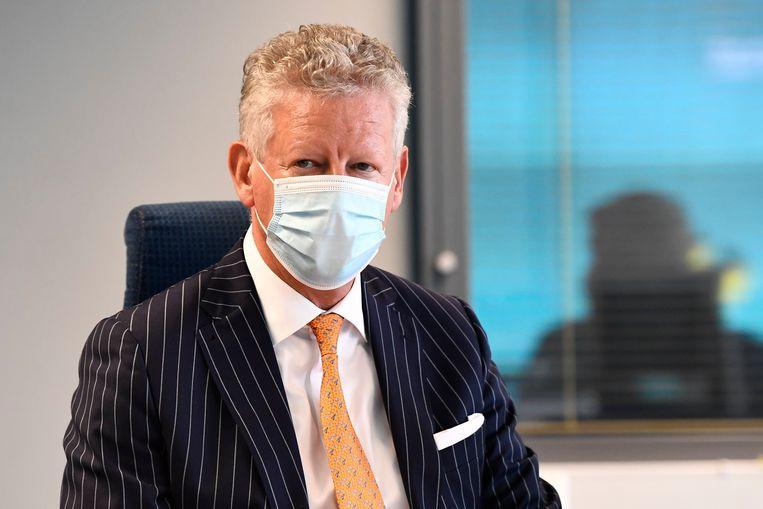 Federaal minister van Binnenlandse Zaken Pieter De Crem (CD&V) wilde al een tijdje een rustig leventje gaan leiden in 'zijn' Aalter, maar dat lukt maar niet. Beeld Photo News
