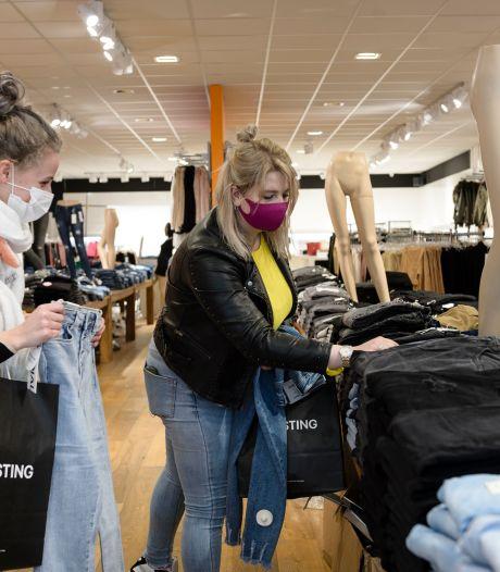 Half uurtje ingeboekt voor 'private shopping' in Enschede: 'Wel gek dat er verder niemand in de winkel is'