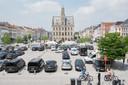 De route 'In het spoor van Adriaen Brouwer' start op de Markt in Oudenaarde.