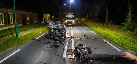 Motorrijder (32) uit Beek en Donk omgekomen bij botsing met auto in Lieshout