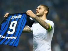 Icardi beslist met hattrick opwindende Milanese derby