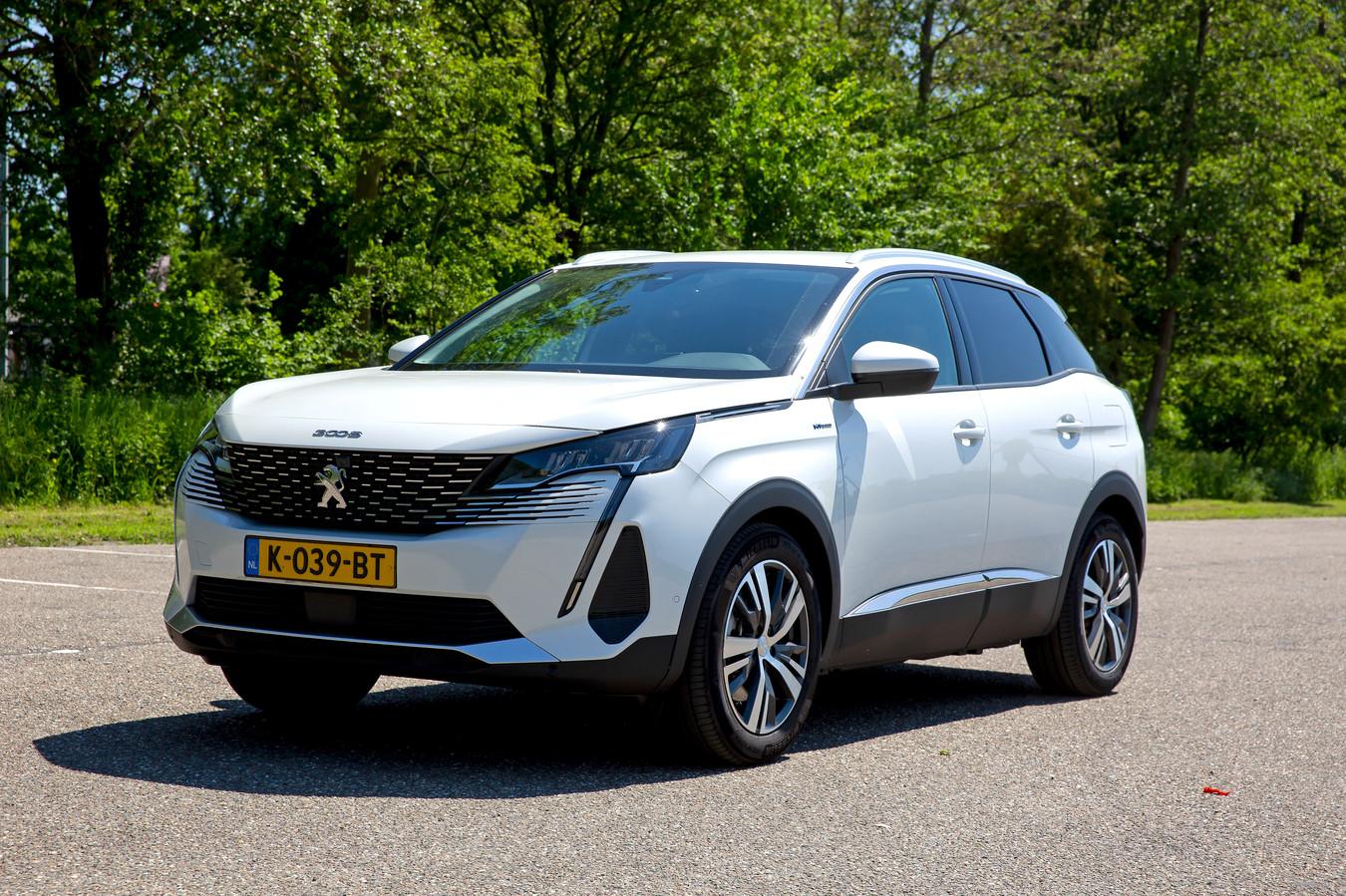 De Peugeot 3008 Hybrid kan tot 50 kilometer elektrisch rijden.