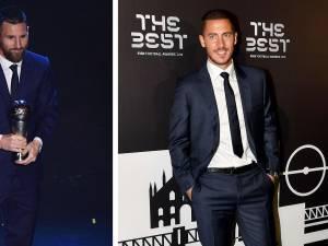 The Best 2019: Messi élu meilleur joueur de l'année, Hazard dans l'équipe-type