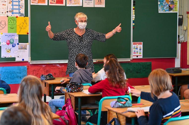 Scholen zetten zich schrap voor een pittig schooljaar. Beeld Photo News