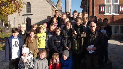 Vijfdeklassers Sint-Lievensinstituut leren over Heilige Livinus