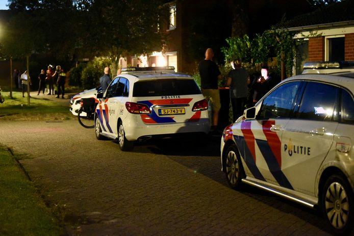 Op de Baarssloot in Houten heeft een gewelddadige overval plaatsgevonden.