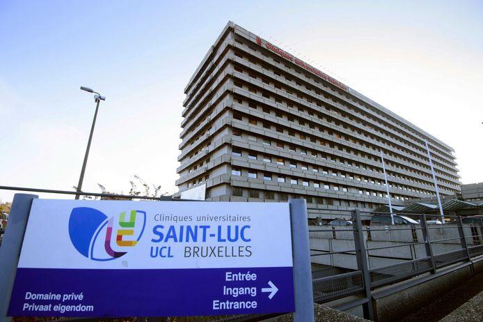 Les cliniques universitaires Saint-Luc (UCLouvain).