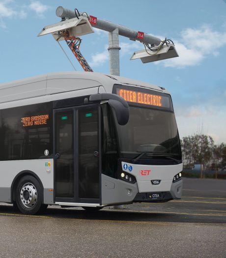 RET bestelt vloot elektrische bussen in teken van verduurzaming