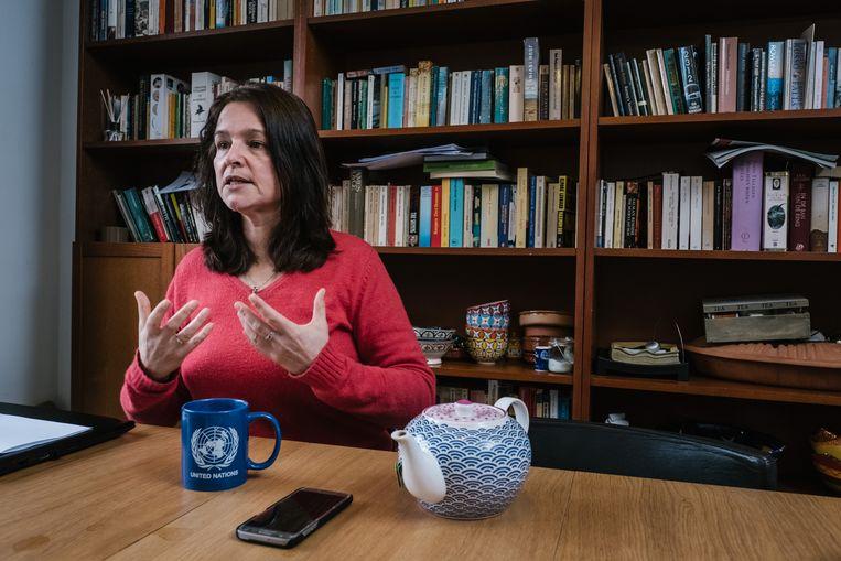 Katrien Van der Heyden: 'Ik durf nu haast geen vlees meer te kopen.' Beeld Wouter Van Vooren