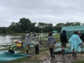 """""""Plots stroomde er een rivier door het terrein"""": Chiro Tiejamo Drongen brengt laatste nacht op kamp door met de enkels in het nat"""