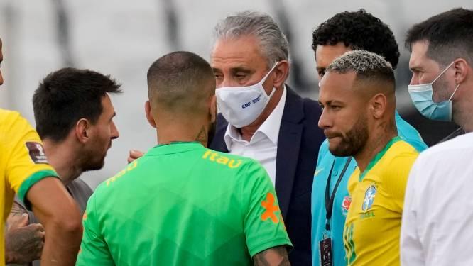 FIFA gaat coronarel bij Brazilië - Argentinië 'diepgaand' onderzoeken