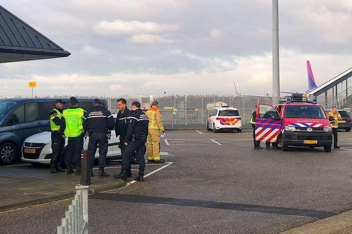 De Explosieven Opruimingsdienst Defensie (EOD) is meteen ter plaatse gekomen.