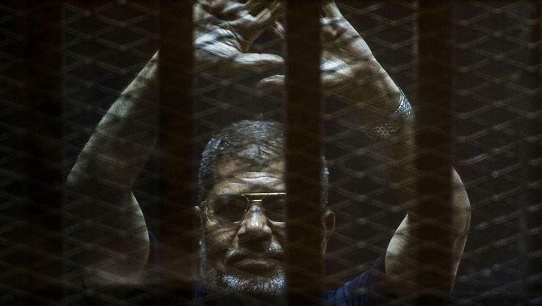 Oud-president Mohamed Morsi. Beeld AFP
