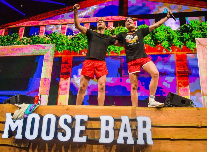 Kobe Ilsen en Viktor Verhulst stonden al op de vorige edities van de Moose Bar XXL in het Sportpaleis en ook dit jaar zijn ze van de partij.