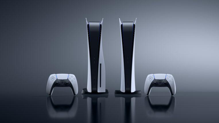 De PlayStation 5 heeft een in het oog springend design. Beeld Sony