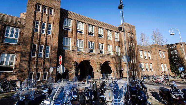 Amsterdams Lyceum Beeld anp