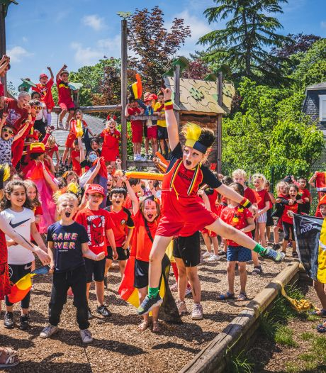Duivelse school, Duivelse straat en versierde cafés: Gent komt langzaam in EK-modus