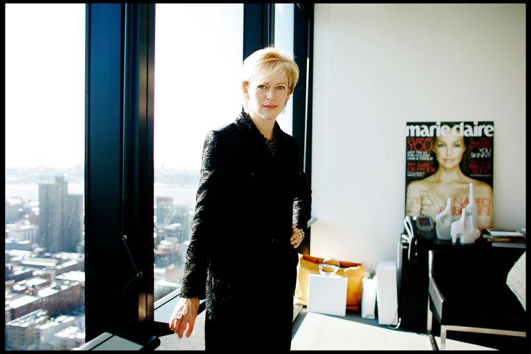 Joanna Coles, bedenker en uitvoerend producent van 'The Bold Type', toen ze bij glossy 'Marie Claire' werkte, in 2007. Beeld Getty