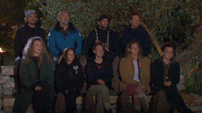 De kandidaten op Tweede Kans-eiland bij Expeditie Robinson