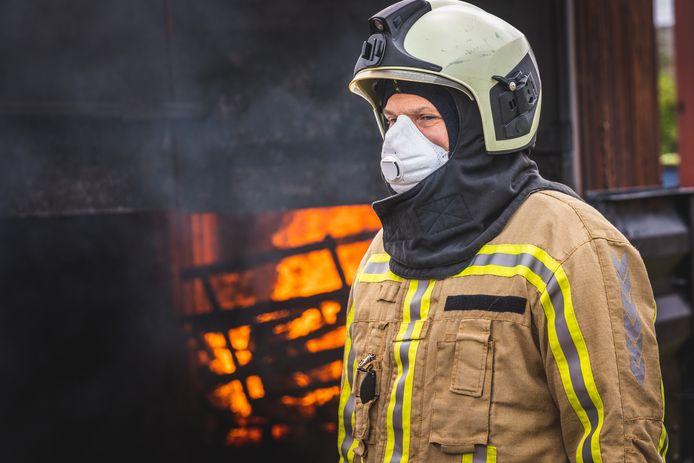 Matthias Diependaele bezocht brandweeropleiding van PAULO in Mendonk