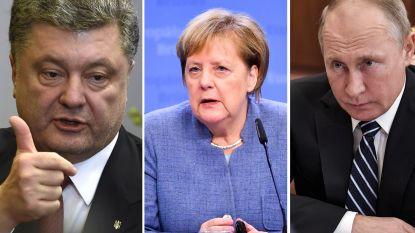 Bondskanselier Merkel roept Rusland en Oekraïne op tot kalmte: Moskou beslist vandaag over het lot van 23 'krijgsgevangenen'