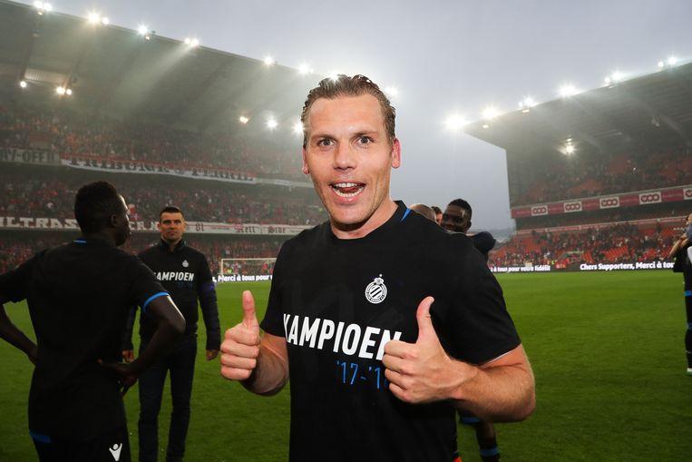 Ruud Vormer met kampioensshirt: