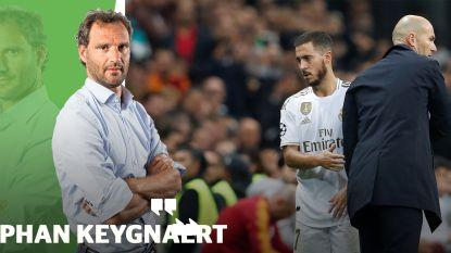 """Onze chef voetbal ziet hoe Zidane Courtois mag bedanken: """"En Hazard? Die kan het fysiek moeilijk bolwerken"""""""