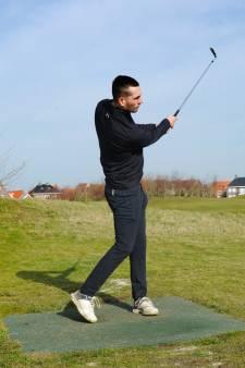 Hoek-voetballer Ruben de Jager ontdekt golfen: 'Een hole-in-one is mooier dan een hattrick'