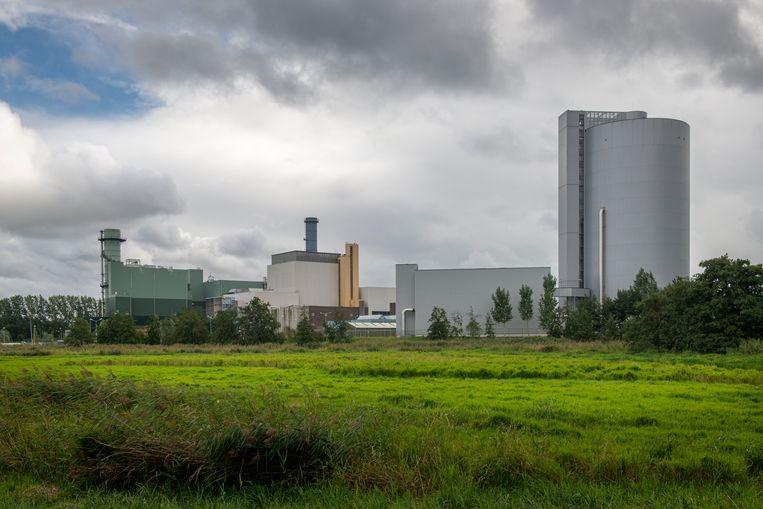 Een energiecentrale van Vattenfall in Diemen, die op aardgas draait. Beeld Hollandse Hoogte / Sabine Joosten