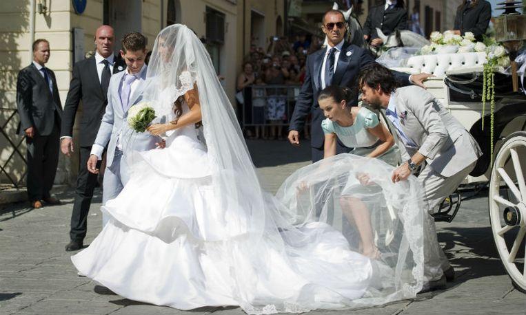Yolanthe sneijder trouwjurk