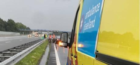 Beginnende automobilist veroorzaakt voor zoveelste keer ongeluk, dit keer op A28