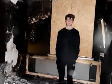 Romano (17) is alles kwijt na verwoestende brand in zijn slaapkamer: 'Mijn valkparkieten zijn dood'