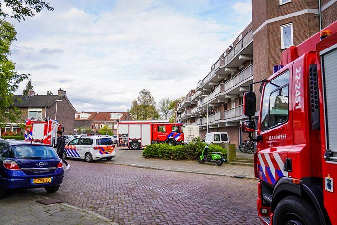 De korte, maar felle brand aan de Generaal Reyndersweg