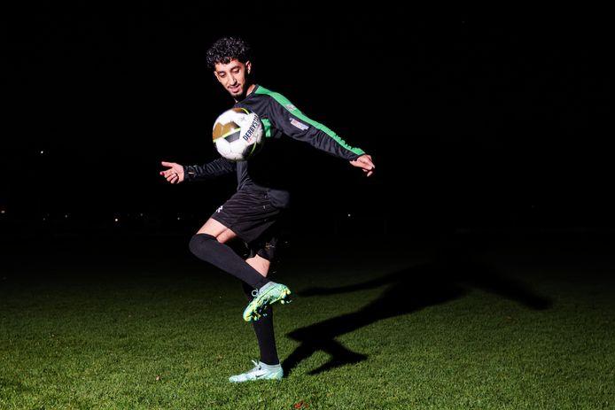 Rijen-speler Yassin Ben Messaoud pingelt weer naar hartenlust.
