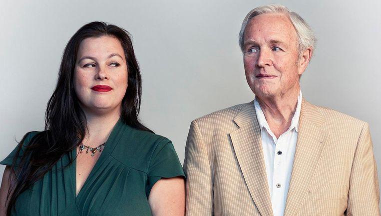 Annabel Nanninga en Jan Terlouw. Beeld Jeroen Hofman