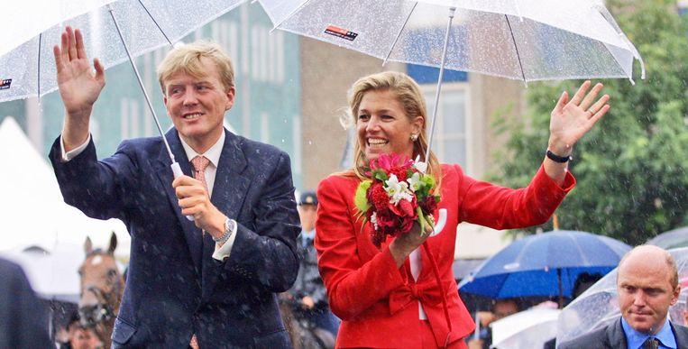 Máxima en Willem-Alexander Beeld Getty Images