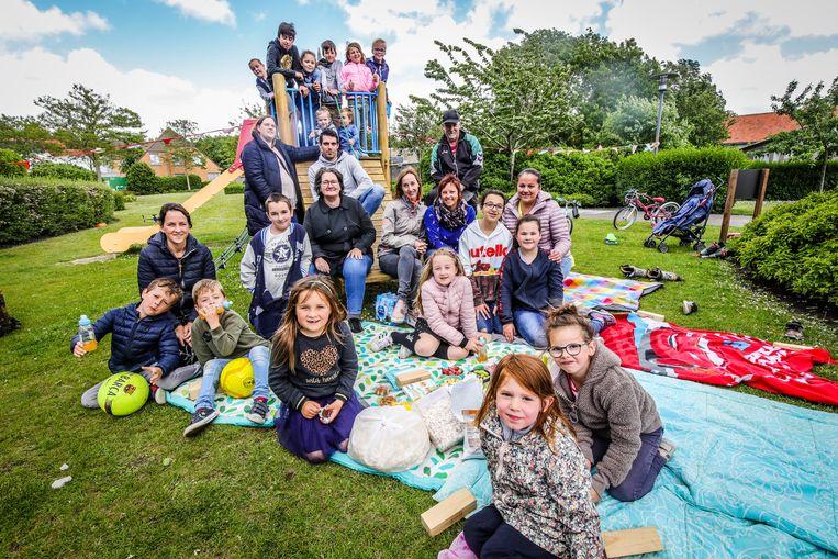Blankenberge ouders van de Zilvermeeuw leerlingen organiseren een eigen zomerfeest