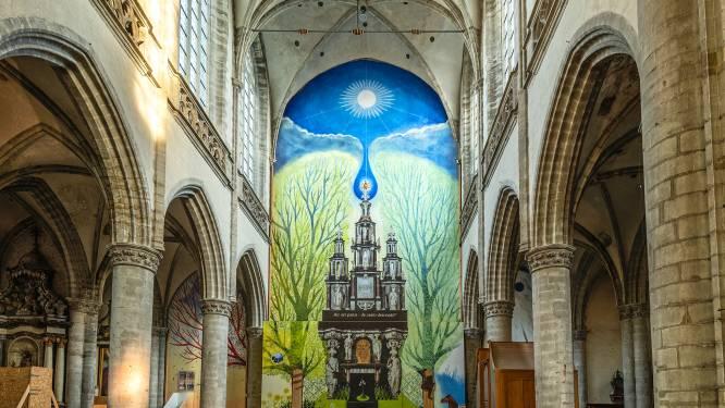 Livestream-concert toont details restauratiewand Sint-Martinuskerk
