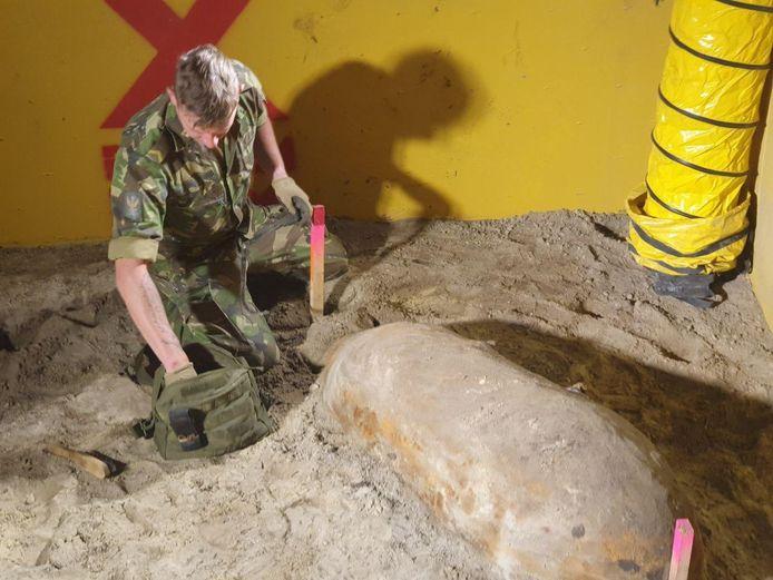 Vorig jaar werden er ook diverse zware vliegtuigbommen gevonden.