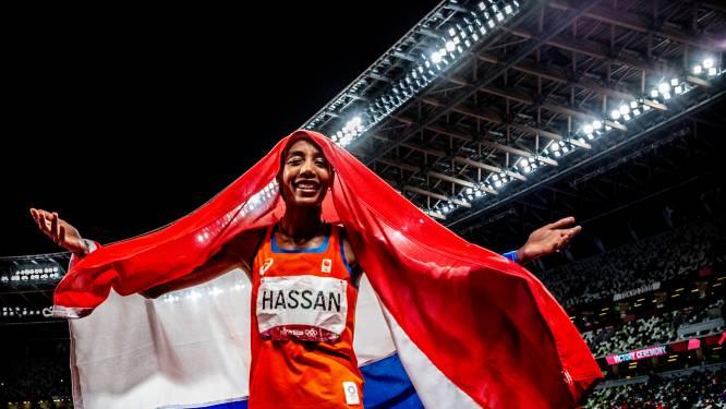 Koning en koningin noemen prestatie Sifan Hassan historisch: 'Zij is een voorbeeld voor velen'