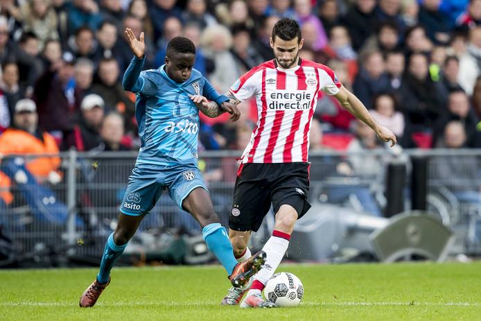 PSV won dit seizoen elk duel waarin Gastón Pereiro in de basis begon (10). De duels waarin dat niet zo was, verloor PSV.