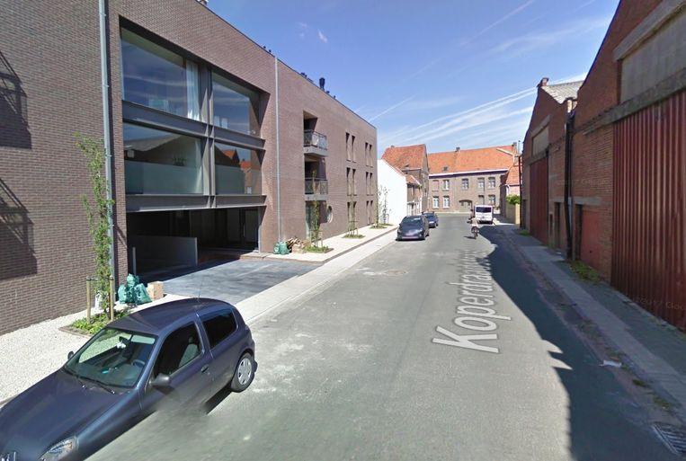 De Koperdraadstraat in Wevelgem.