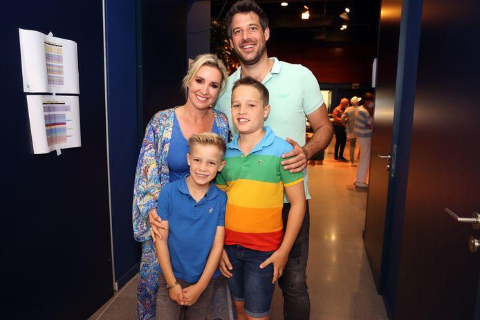Kathleen en haar familie