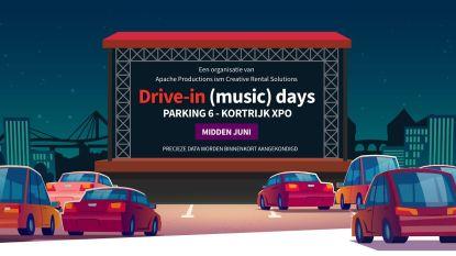 """Toch festival deze zomer: """"Volg live optredens vanuit je wagen op parking van Kortrijk Xpo"""""""