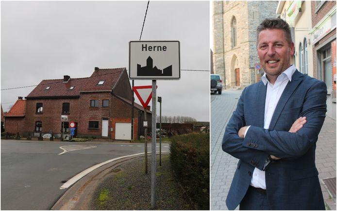 Herne: burgemeester Kris Poelaert (CD&V).