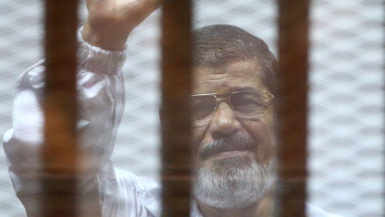 Mohamed Morsi Beeld afp