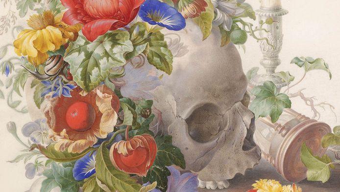 'Memento Mori', van Herman Henstenburgh, uit 1698.