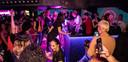 Archiefbeeld van een eerdere dansavond in Flamingo Club. De personen op de foto waren niet noodzakelijk aanwezig op de avond dat de superverspreider de club bezocht. (19/04/2020)