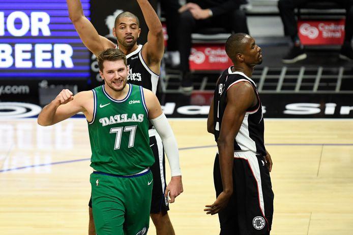 Luka Doncic et les Mavericks ont fait exploser les Clippers.