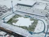 200 Kroatische supporters maken zelf stadion sneeuwvrij